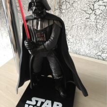 Star Wars Darth Vader With Lightsaber Figure