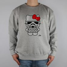 Srormtrooper Hello Kitty Men Sweatshirt