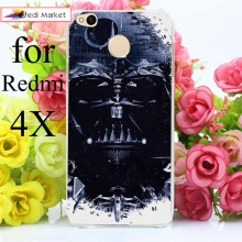 Star Wars Hard Plastic Transparent Cases for Xiaomi Redmi 4X