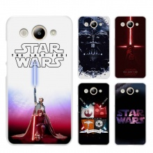 Star Wars Hard Transparent Case Cover for Huawei Y3 Y5 Y6 II 2017 Pro