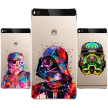 Star Wars Soft TPU Silicone  Case Cover For Huawei P8 P9 P10 Lite Plus 2017 Honor 8 Lite Pro 9 5C 6X V9