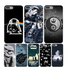 Star Wars Hard Transparent Cover Case for iPhone X 10 8 7 6 6S Plus 5 5S SE 5C 4 4S