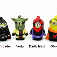 Minion Star Wars USB Flash Drive Darth Vader Yoda Obi-Wan Darth Maul 4Gb 8Gb 16Gb 32Gb