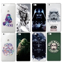 Star Wars Soft Silicone TPU Cover Case For Huawei P8 P8 Lite