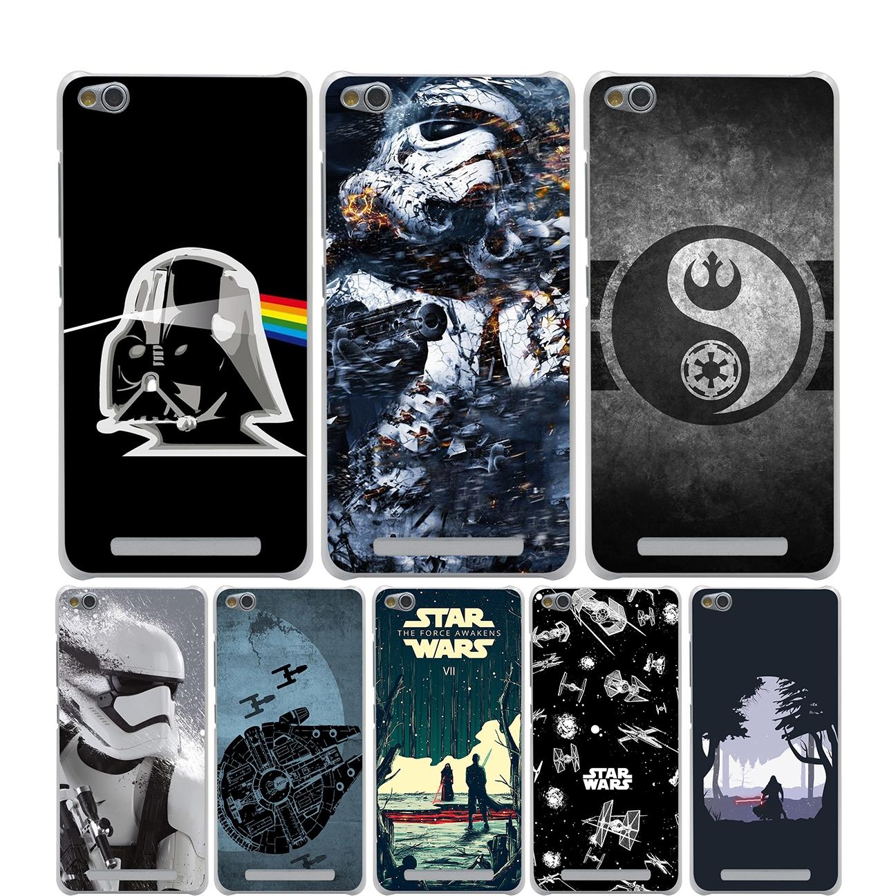 Star Wars Phone Cover Case For Xiaomi Redmi Note 2 3 4 Pro Prime 4a 4x