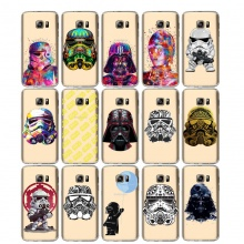 Star Wars Soft TPU Silicone Case Cover For Samsung Galaxy Note 3 4 5 8 S5 S6 S7 Edge S8 Plus Grand Prime